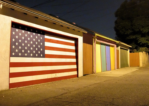 Colorful Garages