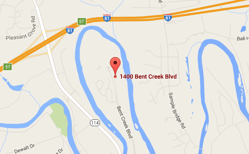 Bent Creek Apartments Map