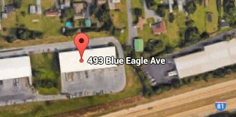 Blue Eagle Business Map