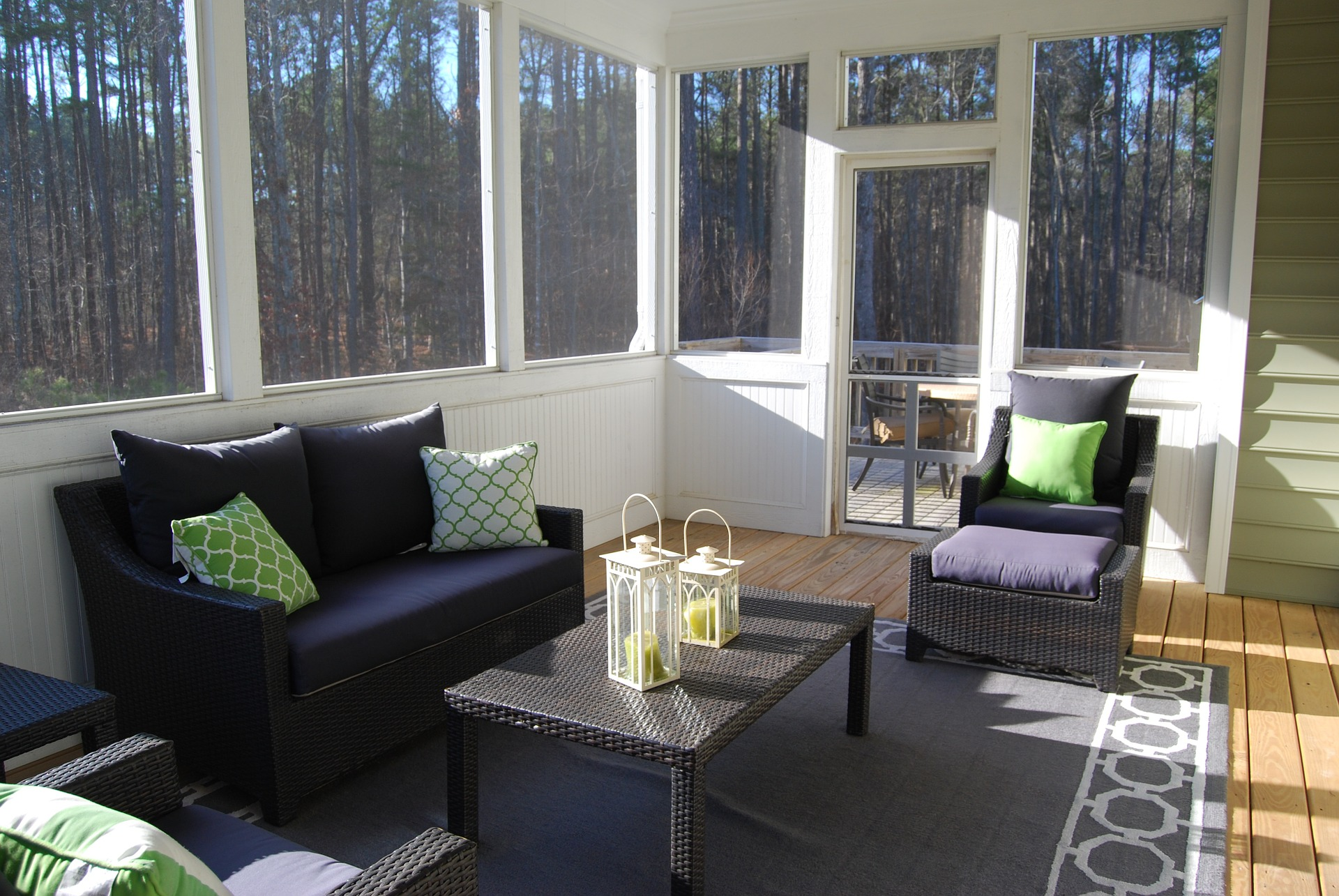 How To Decorate A Sunroom Triple Crown Corporation