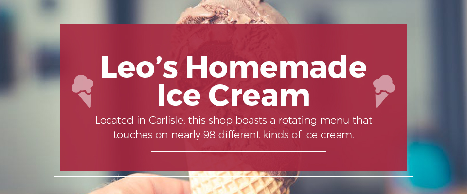 Leo's Homemade Ice Cream
