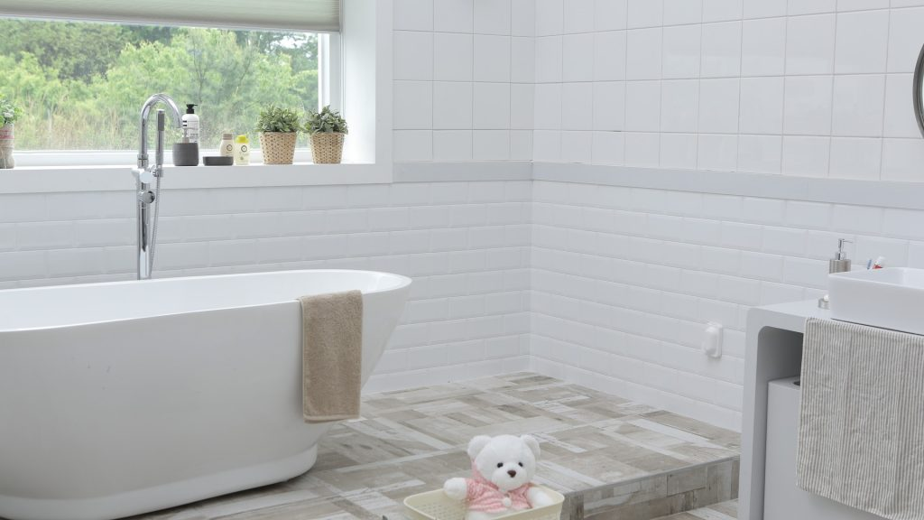 mildew free bathroom