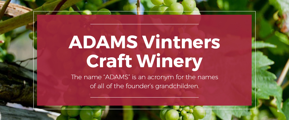 Adams Vintners Winery