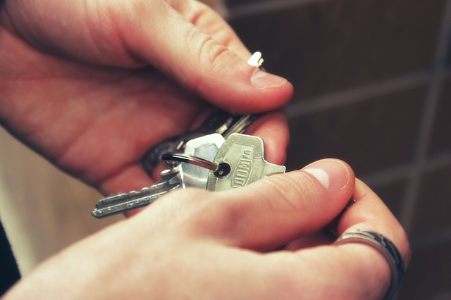 keys for rental property or home