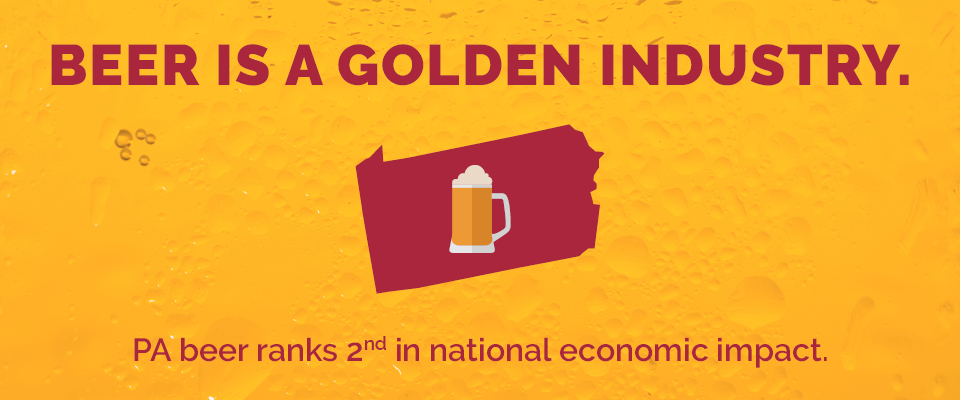PA beer ranks 2nd in national economic impact