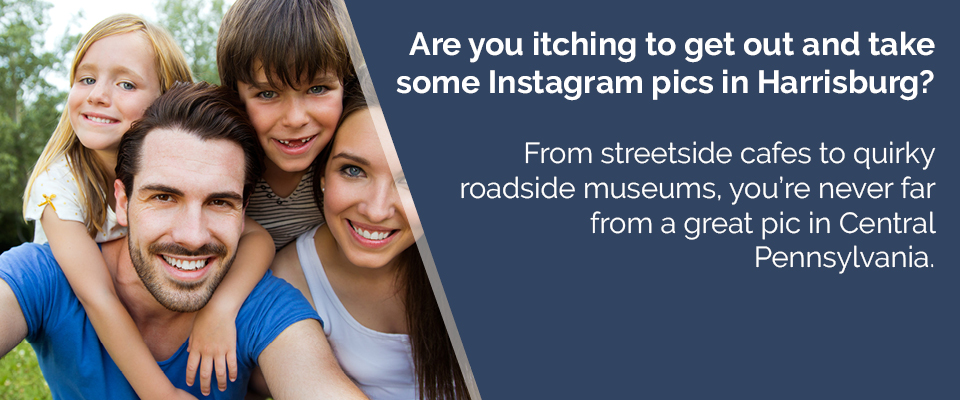 Are you itching to get out and take some Instagram pics in Harrisburg?