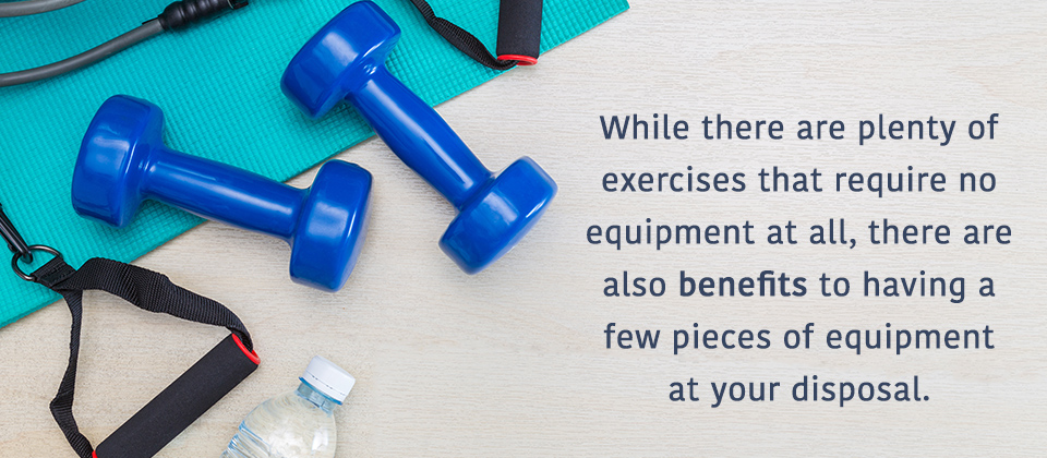 Benefits of Having Some Workout Equipment