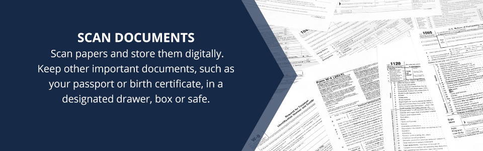 Scan Documents to Store Digitally
