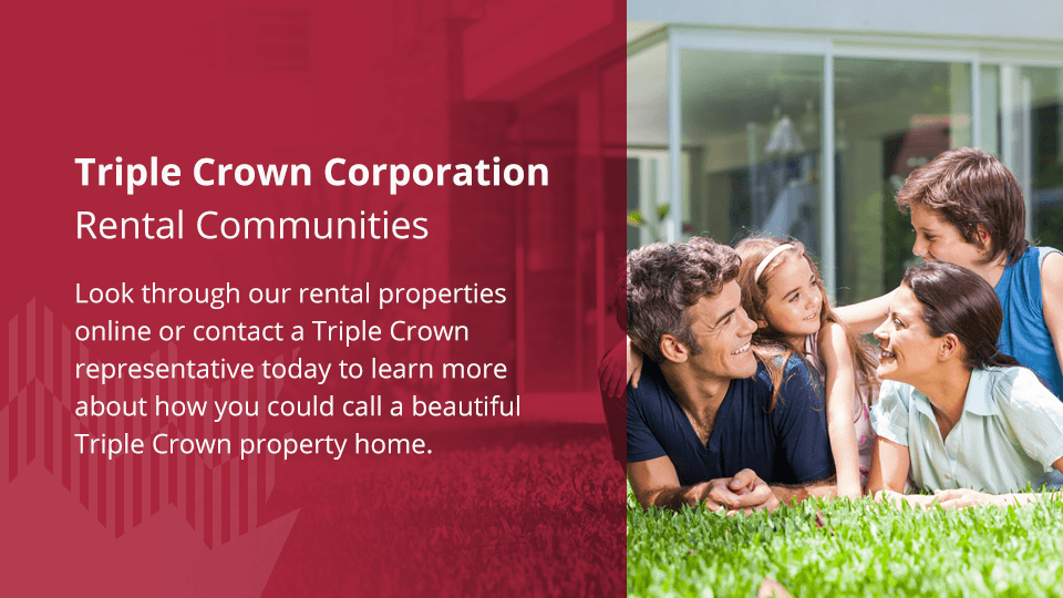 Contact Triple Crown Corporation to find a new home