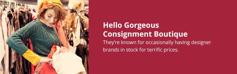 Hello Gorgeous Consigment Boutique