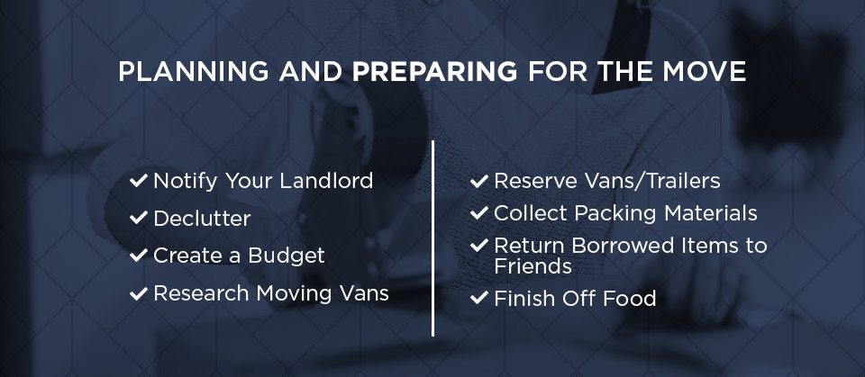 Tips for Planning and Preparing for Your Move