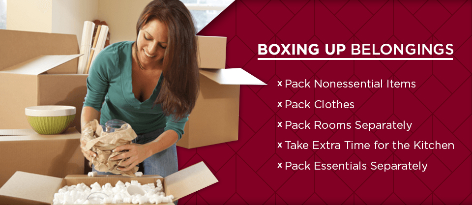Tips for Boxing Up Your Belongings