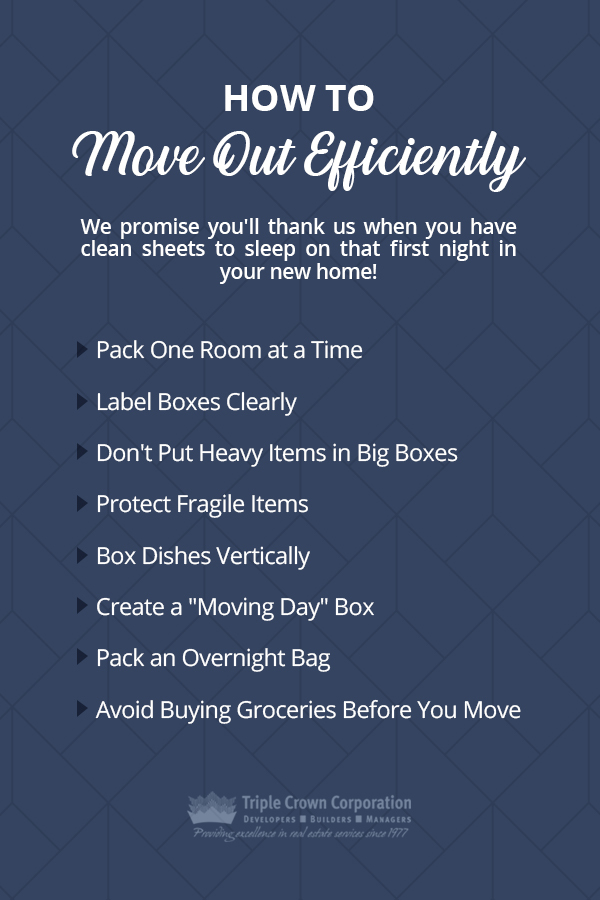How to Move Out Efficiently Checklist