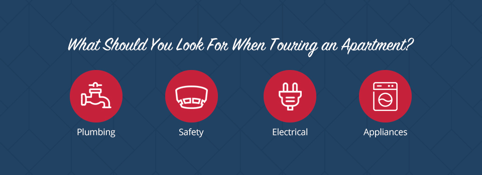 What Should Your Look for When Touring an Apartment