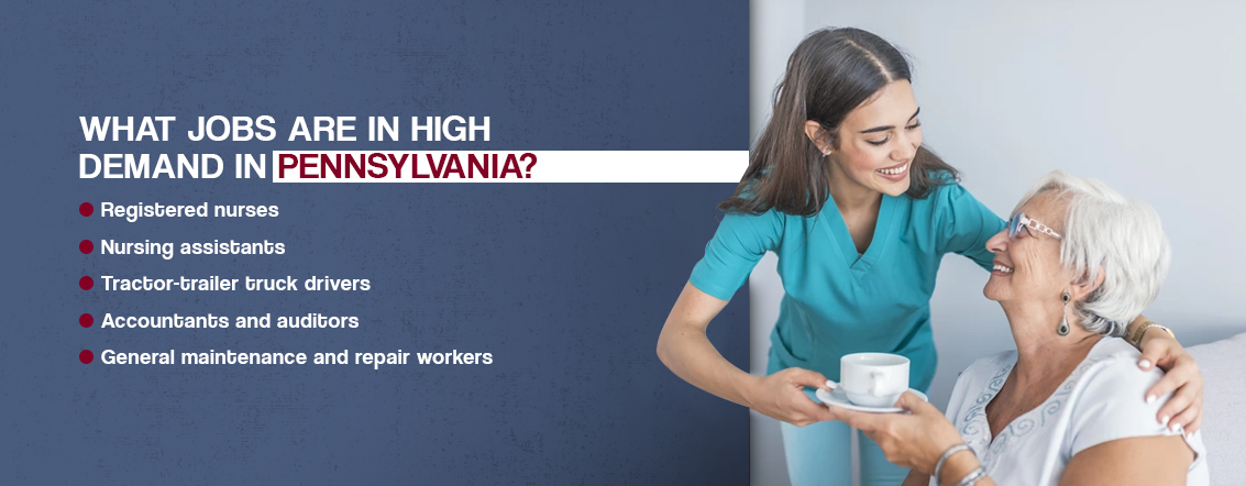 What Jobs Are in High Demand in Pennsylvania?