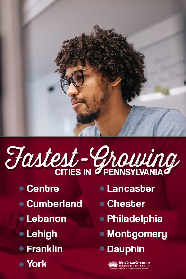 Fastest-Growing Cities in Pennsylvania