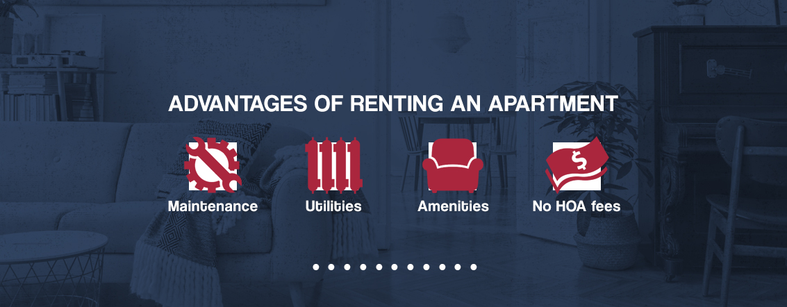 Advantages of Renting an Apartment [list]