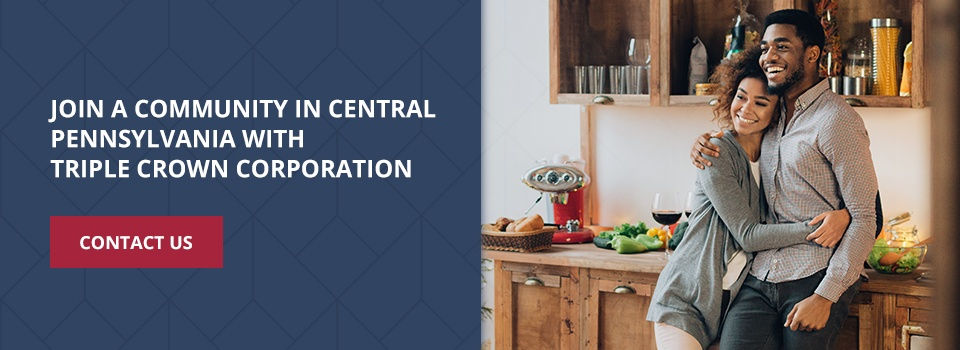 Join a community in central Pennsylvania with Triple Crown Corporation